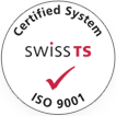 Certified System - Swiss TS, ISO 9001